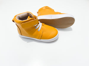 Nathan High-Tops - Mustard