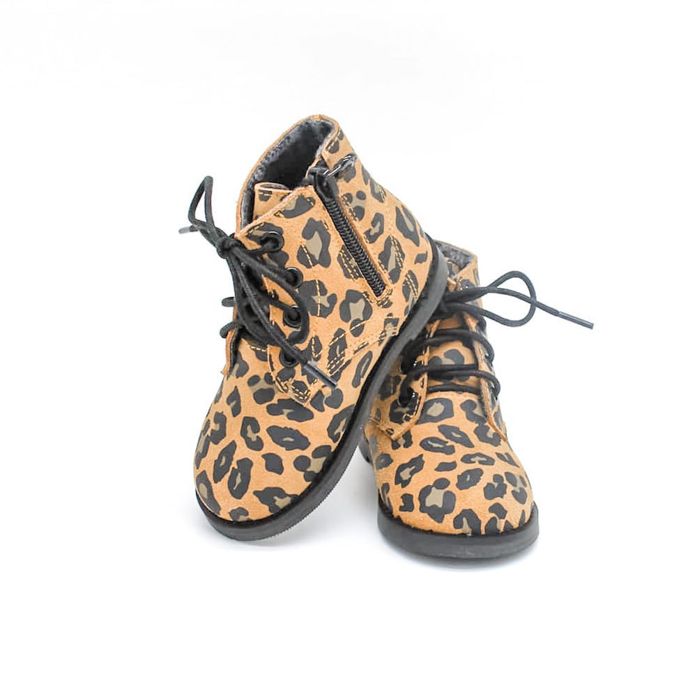 Bliss Boots - Leopard