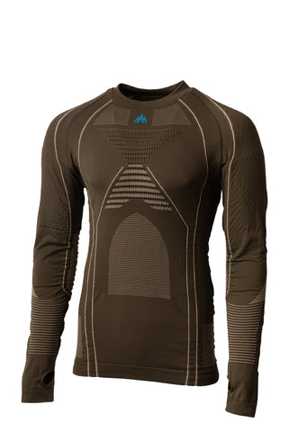 pnuma outdoors iconx base layer shirt - front