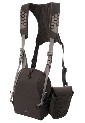 pnuma outdoors bino harness and tech pouch - front