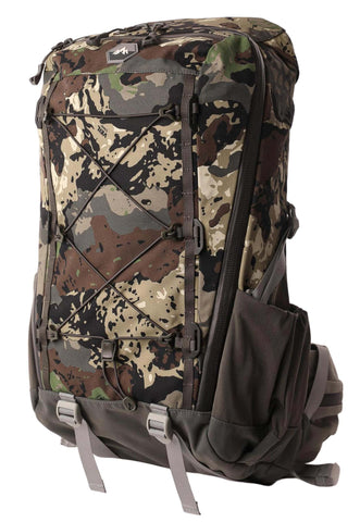 pnuma outdoors chisos day pack in caza camo - front
