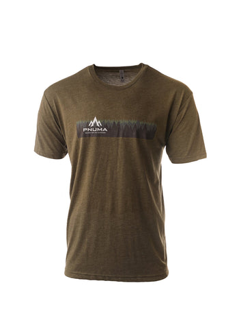 pnuma outdoors forest tshirt - front view