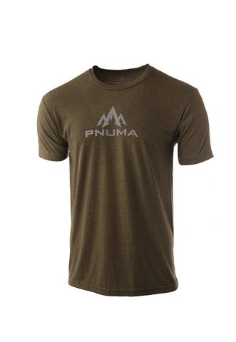 pnuma outdoors logo tshirt - front view