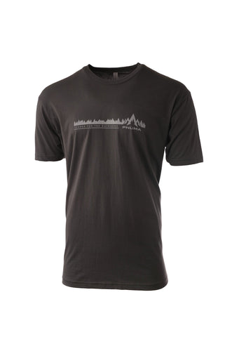 pnuma outdoors treeline tshirt - front view