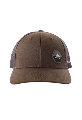 pnuma outdoors trucker cap - front view