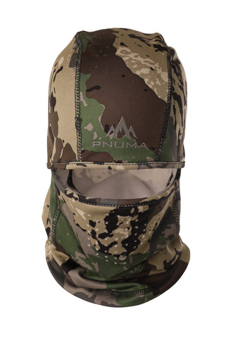 pnuma outdoors recon balaclava - front view