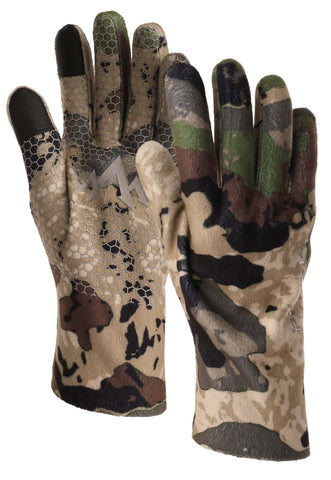 pnuma outdoors recon element proof glove - caza camo color