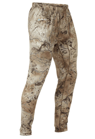 pnuma outdoors rogue base layer pant with LAV8- front view - terra camo color