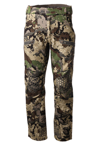 pnuma outdoors - waypoint pant - front view - caza camo color