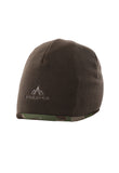 pnuma outdoors recon reversible beanie - inside view - caza camo color