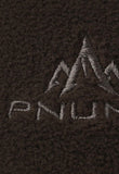 pnuma outdoors recon reversible beanie - inside fabric detail - caza camo color