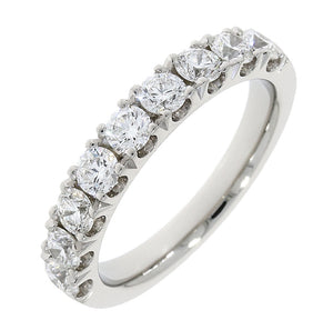Platinum Diamond Claw Set Ring