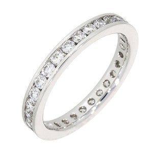 Platinum Full Diamond Ring