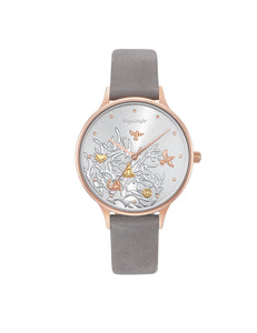 Tree Of Life Rose Gold Plated Quartz Strap Watch