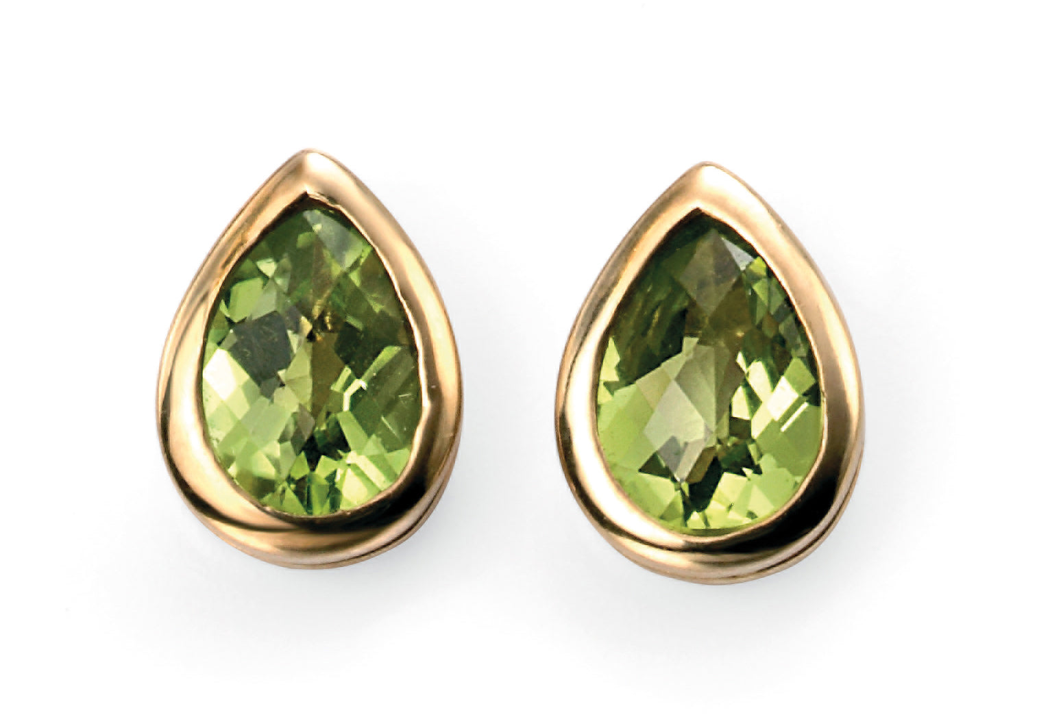 9ct Peridot Stud Earrings