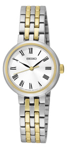 Seiko Gold Plated and Stainless Steel Quartz Watch
