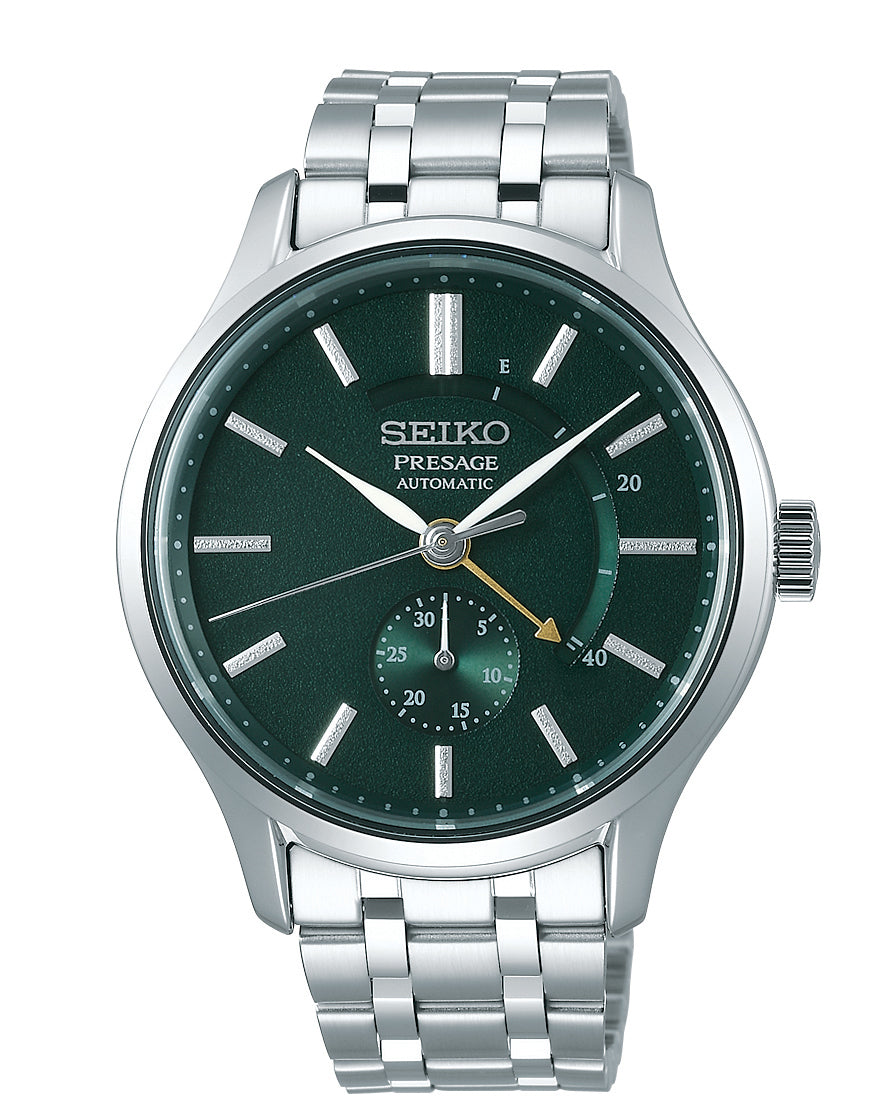 Seiko Presage Automatic Stainless Steel Bracelet Watch