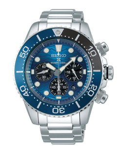 Seiko Prospex  Save the Ocean Solar Chronograph Dive Watch