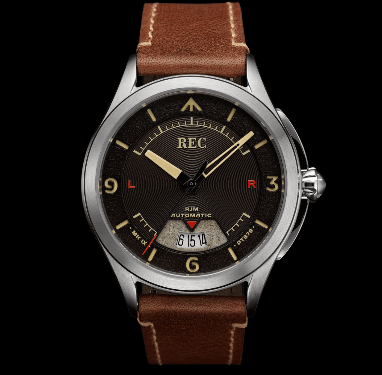 REC RJM02 Automatic strap watch