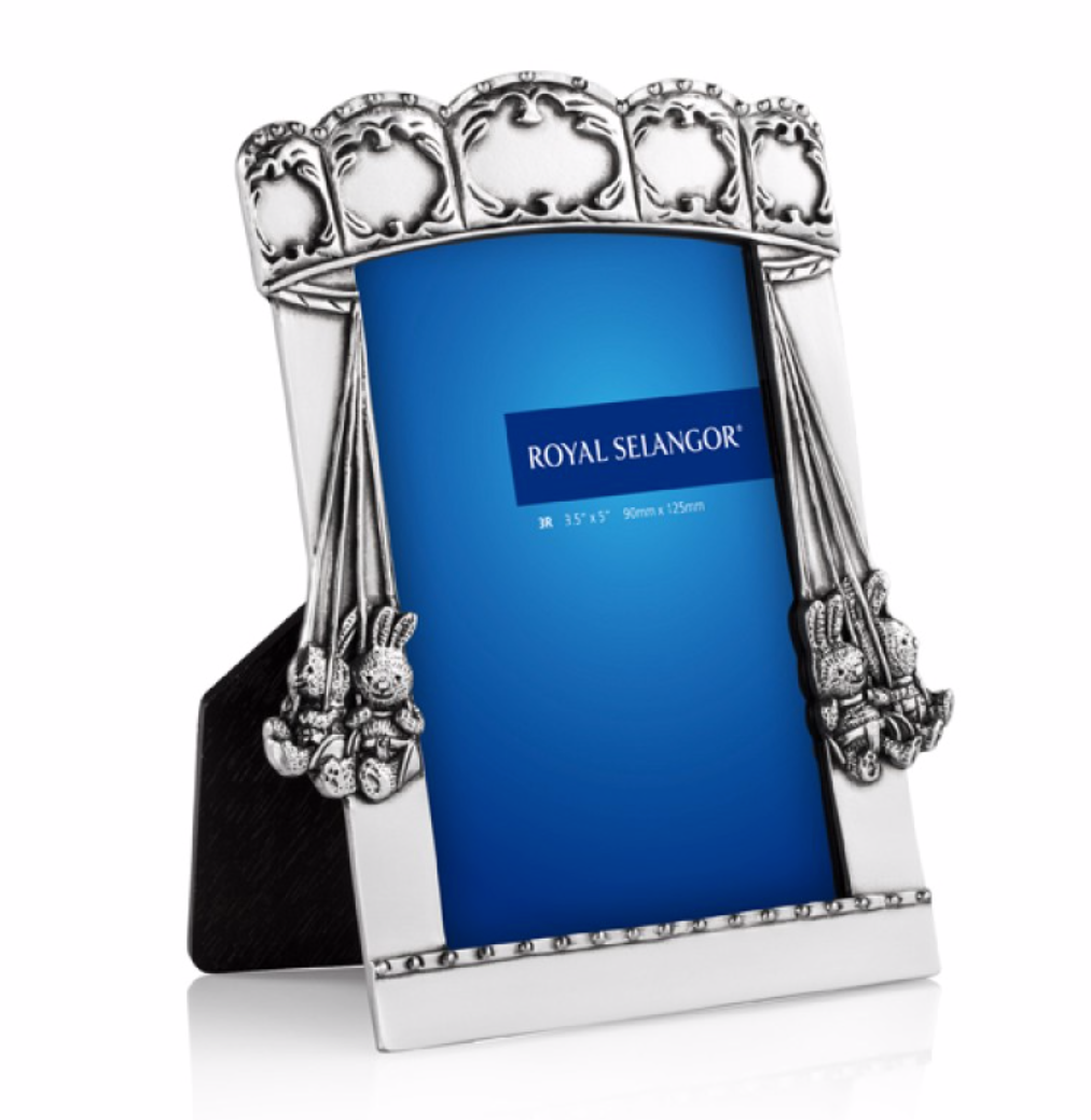Royal Selangor Pewter Carousel Photo Frame