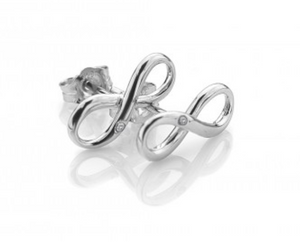 Hot Diamonds Sterling Silver Stud Earrings