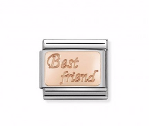 Nomination Composable Classic Link Rose Gold Best Friend