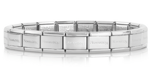Nomination Stainless Steel Classic Link Composable Bracelet