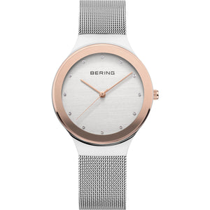 Bering Quartz Stainless Steel Bracelet Watch