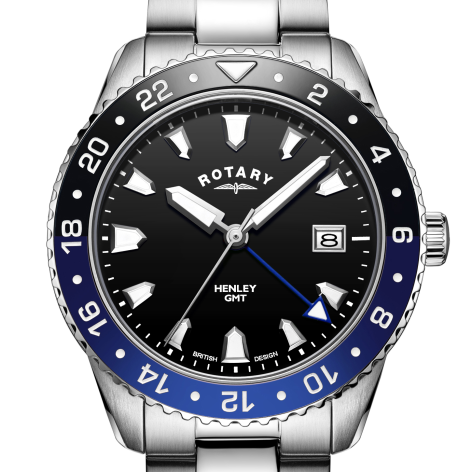 Rotary Henley Stainless Steel Quartz Watch