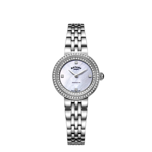 Rotary Stainless Steel Kensington Quartz Bracelet Watch