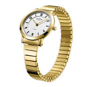 Rotary Ladies Gold PVD Expander London Watch