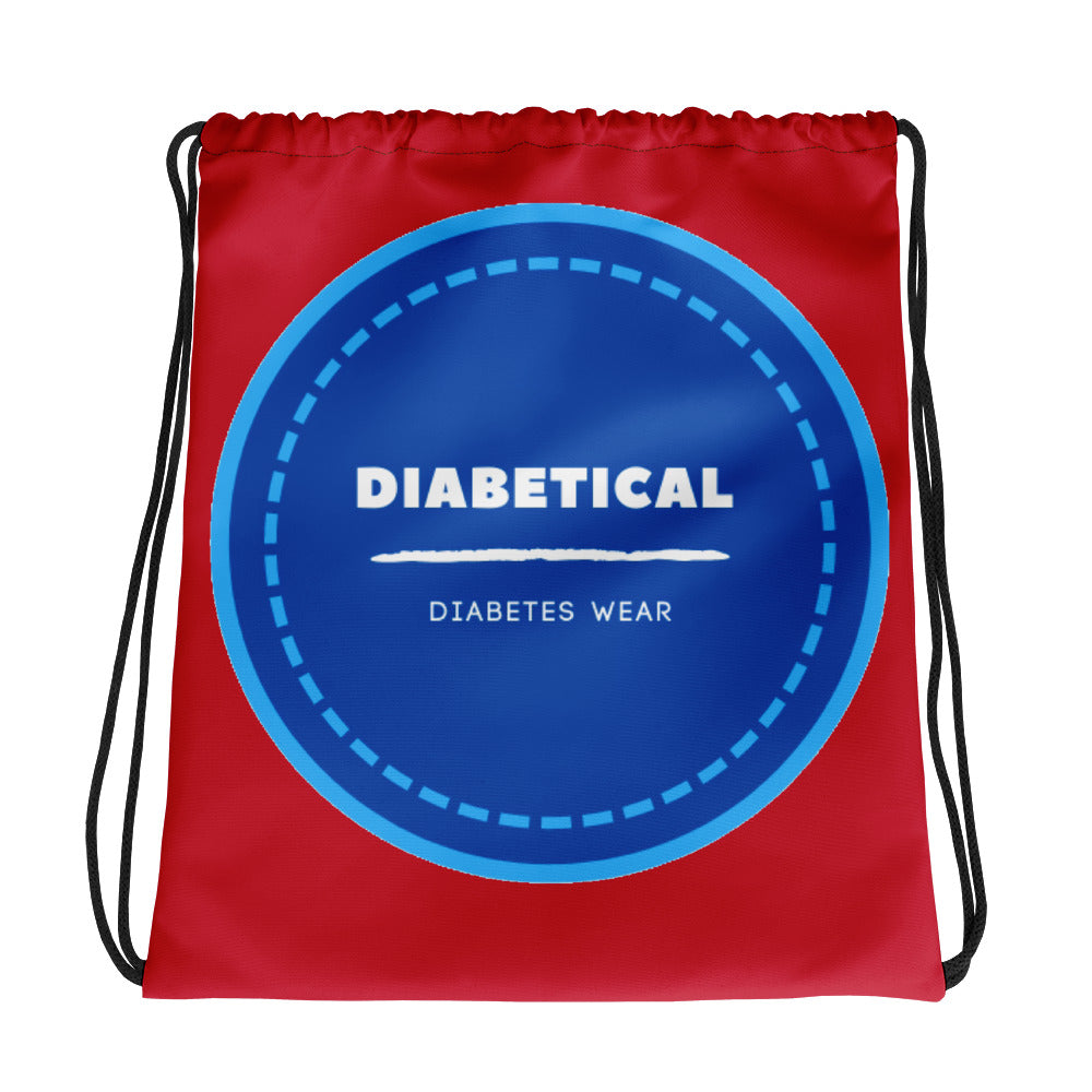 Diabetical Drawstring bag