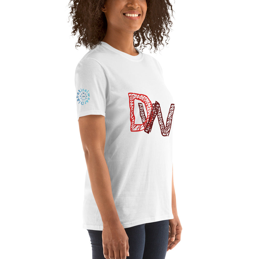 Don't worry scribble t-shirt