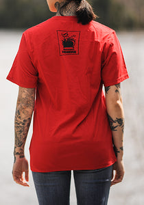 T-shirt TdD rouge