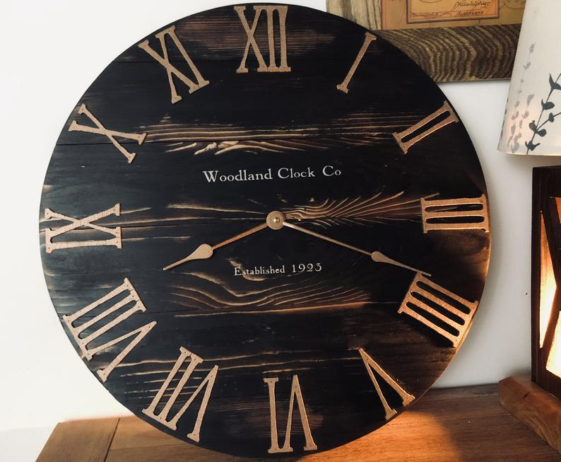The Woodland Story Co Wall Clock