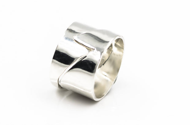 Sterling-silver-puzzle-wave-ring-14mm-wide