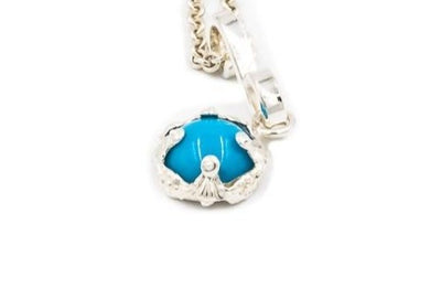Genuine Sleeping Beauty Turquoise Pendant
