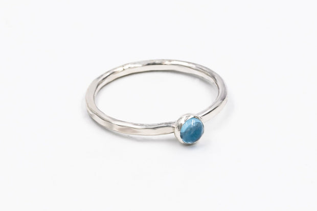 textured_Sterling_silver_swiss_blue_topaz_ring_stackable