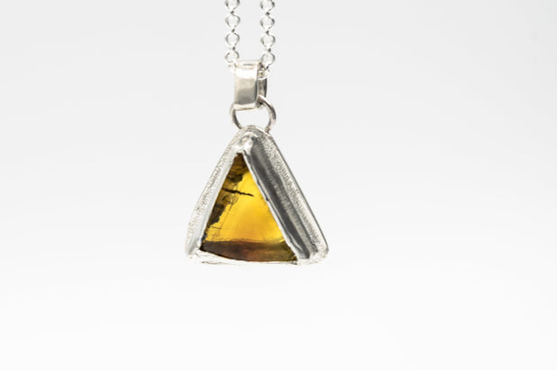 triangle_shaped_amber_sterling_silver_pendant