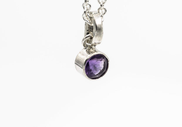 faceted_amethyst_sterling_silver_pendant