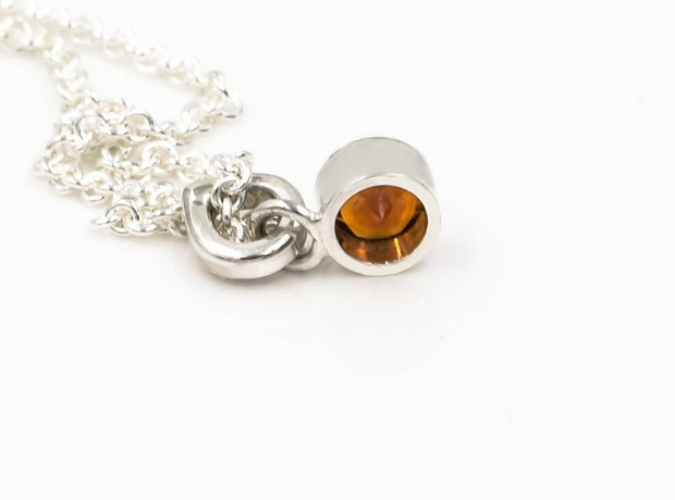faceted_fire_citrine_sterling_silver_pendant