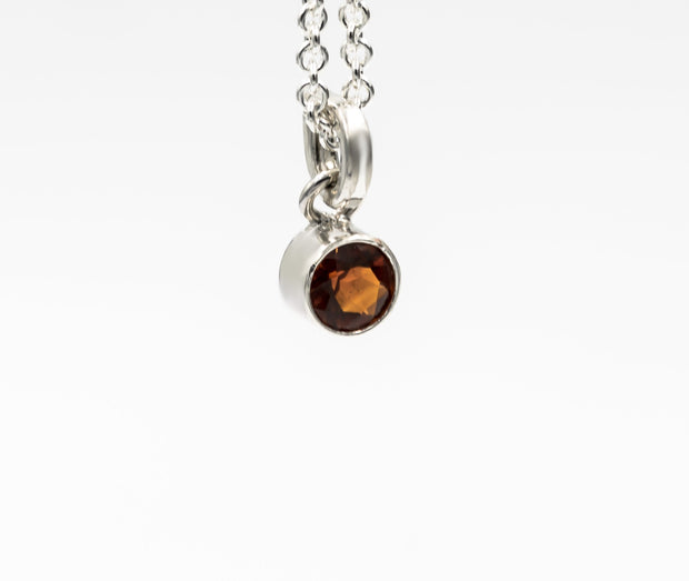 5mm_faceted_fire_citrine_sterling_silver_pendant