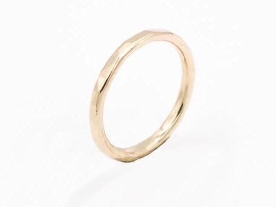 solid 14k yellow gold ring