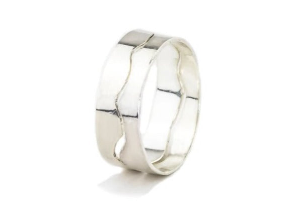 Wide-sterling-silver-puzzle-ring-two-pieces