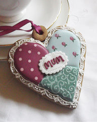 Mother's Day Cookie Heart