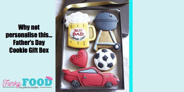 Personalised Gifts for Dad Cookies and Chocolates