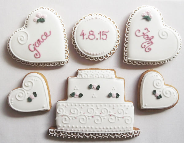 Wedding Cookie Gift Box