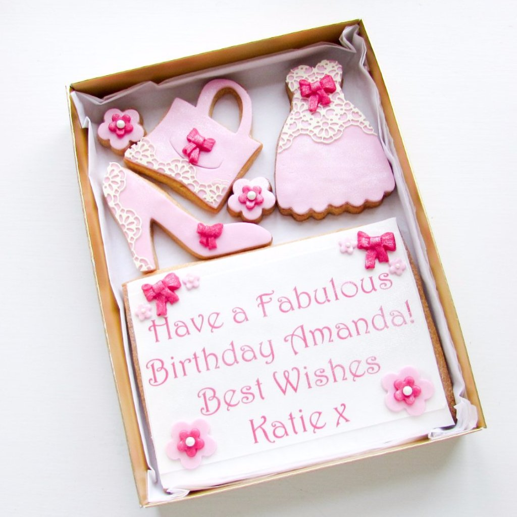Personalised Cookie Card
