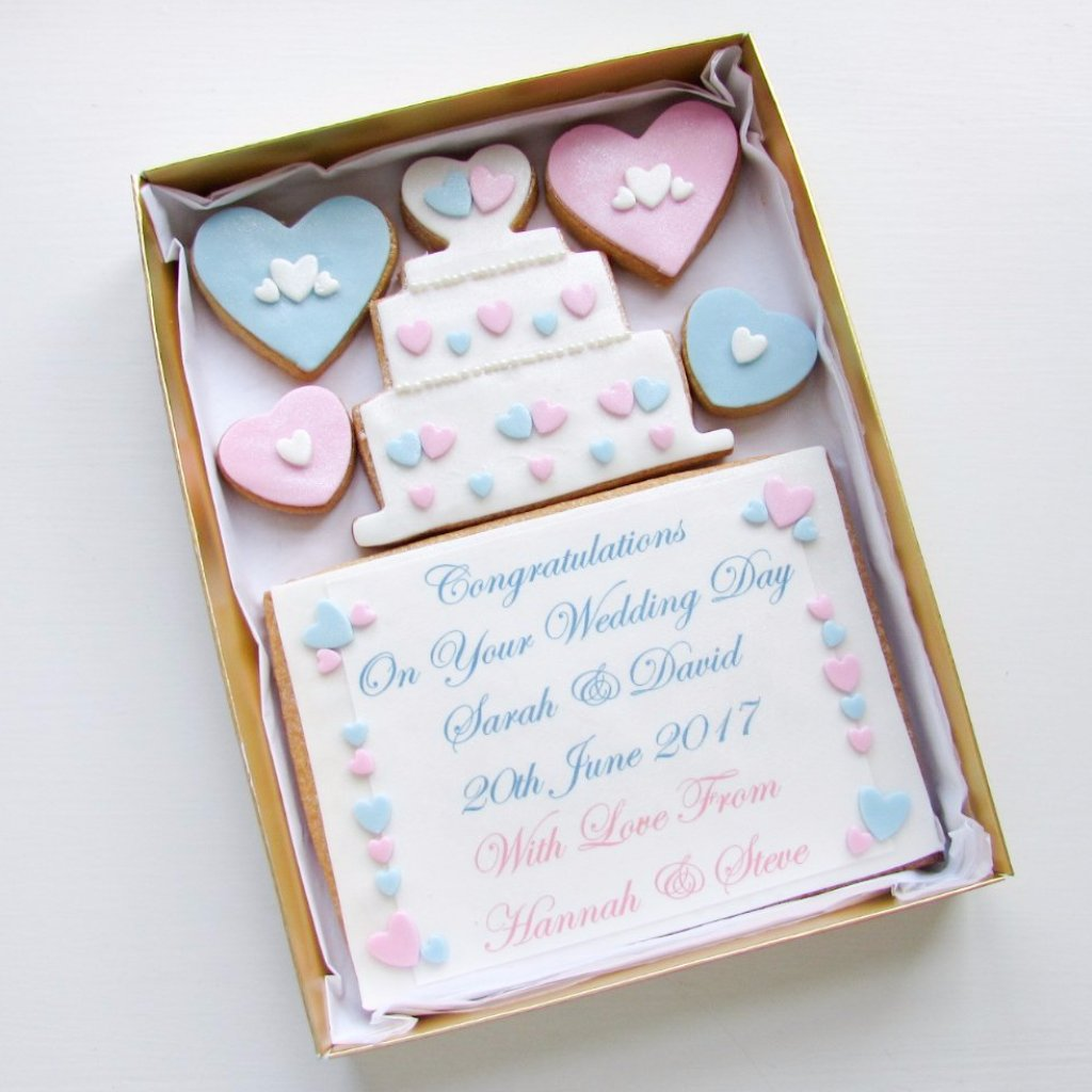 Personalised Wedding Cookie Card