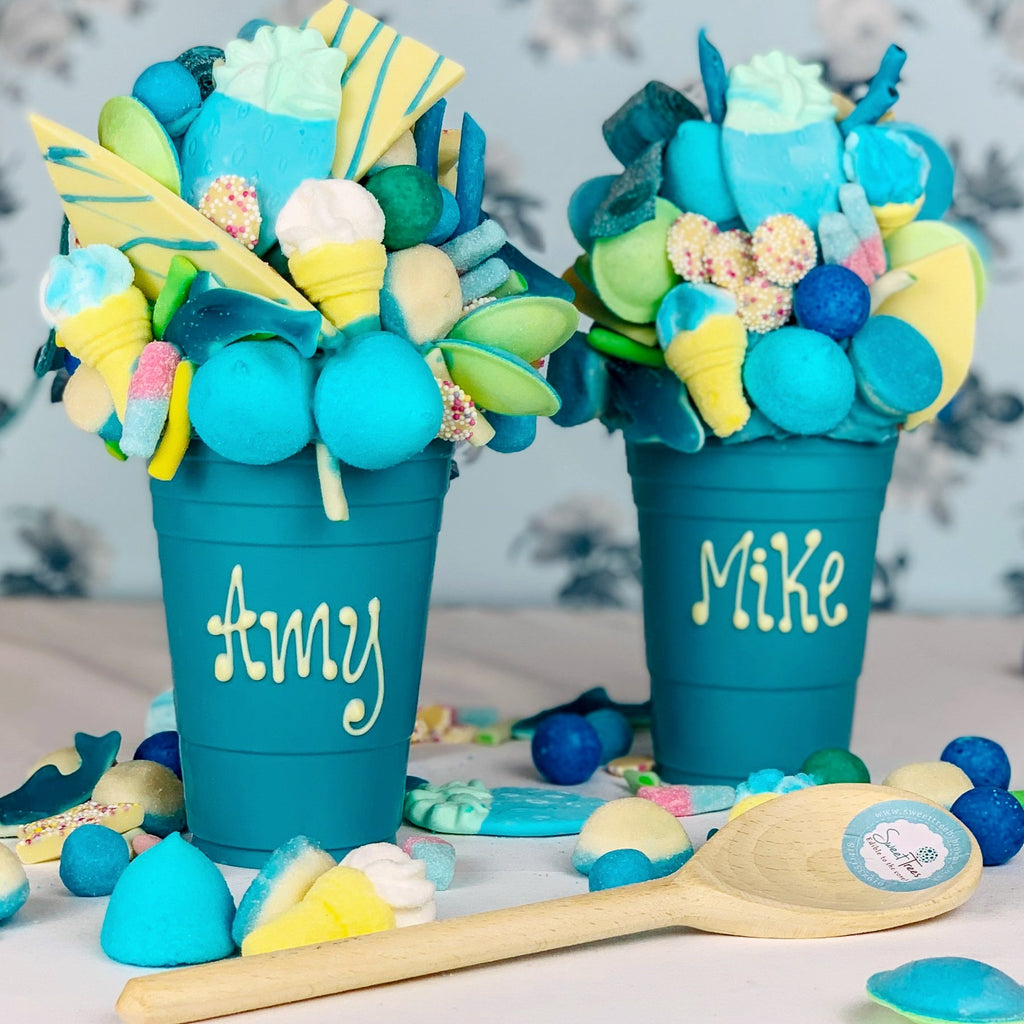 Bubblegum Blue Chocolate Smash Cup